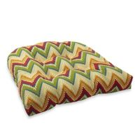 Buy Decorative U-Shaped Chair Cushion in Zig Zag from Bed ...