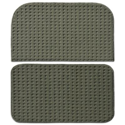 green kitchen rug black pull down faucet buy rugs bed bath beyond garland herald square 2 piece set in