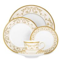 Lenox Opal Innocence Gold Dinnerware Collection - www ...