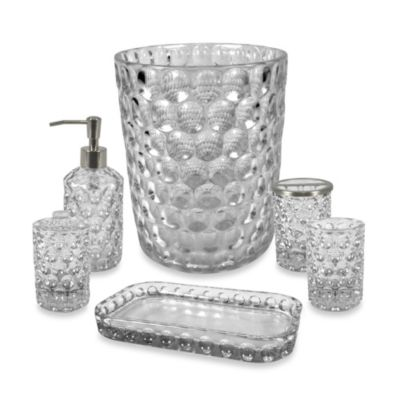 Crystal Ball Glass Bathroom Accessories in Clear  Bed Bath  Beyond