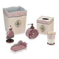 Avanti Juliet Bathroom Accessories - Bed Bath & Beyond