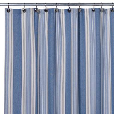 Blue Savannah Shower Curtain  Bed Bath  Beyond