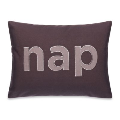 Kenneth Cole Reaction Home Mineral Nap Oblong Throw Pillow