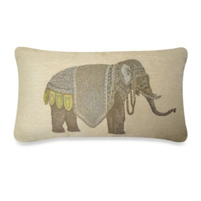 Olifant Oblong Throw Pillow  Bed Bath  Beyond