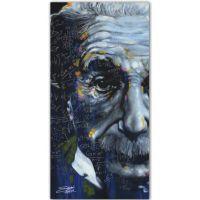 Stephen Fishwick Einstein Printed Canvas Wall Art - Bed ...