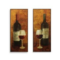 Vin Rouge Wine Wall Art - Bed Bath & Beyond