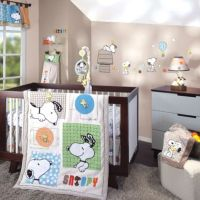 Lambs & Ivy BFF Snoopy Crib Bedding Collection