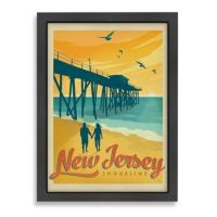 Buy Americanflat Jersey Shore Framed Wall Art from Bed ...