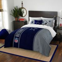 Buy NFL Dallas Cowboys Twin Embroidered Comforter Set from ...
