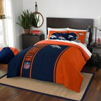 Buy NFL Denver Broncos Full Embroidered Comforter Set from ...