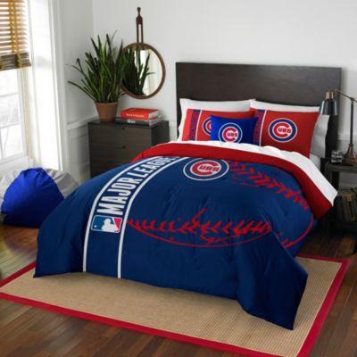 MLB Chicago Cubs Embroidered Comforter Set