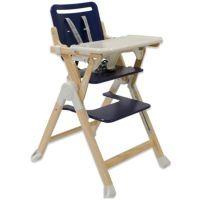 Buy Joovy Wood Nook High Chair in Blueberry from Bed Bath ...