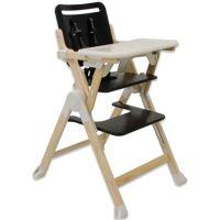 Joovy Wood Nook High Chair in Black - buybuy BABY