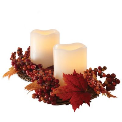 find a kitchen designer hood design loft living harvest wreath centerpiece with flameless ...