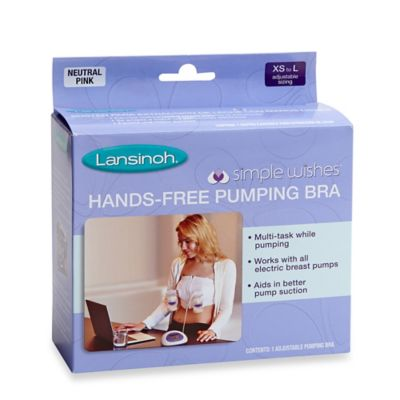 Lansinoh Simple Wishes Hands Free Pumping Bra Buybuy BABY