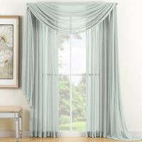 Reverie Sheer Window Scarf Valance - BedBathandBeyond.com