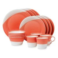 Royal Doulton 1815 16-Piece Dinnerware Set in Red - Bed ...
