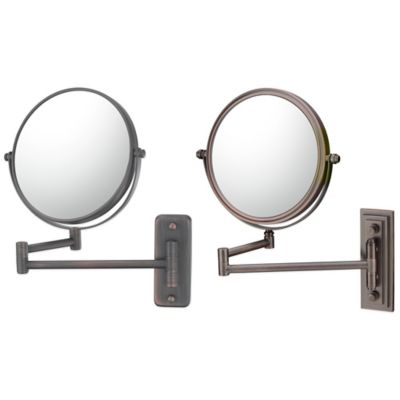 5X/1X Double Arm Extension Wall Mirror