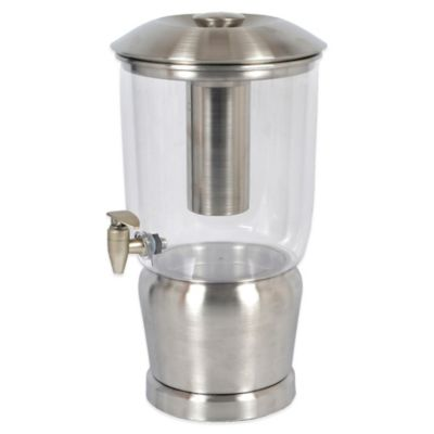 Double Walled Stainless Steel 3 Gallon Beverage Dispenser