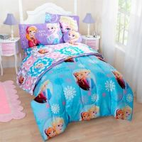 Buy Disney Frozen 6-Piece Reversible Twin Comforter Set ...