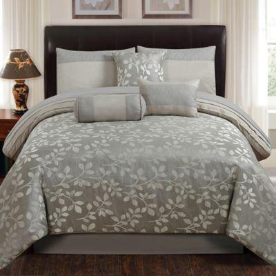 Buy Grey Comforter Sets Queen from Bed Bath  Beyond