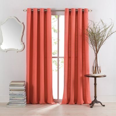 Buy Coral Curtain Panels From Bed Bath & Beyond