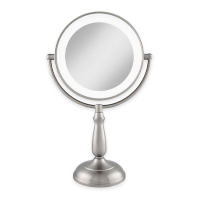 Zadro 1x10x Dimmable Touch LED Lighted Makeup Mirror