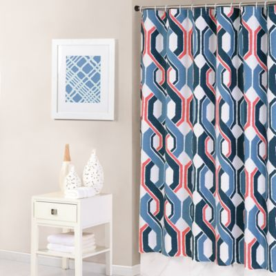 Buy Ikat Shower Curtain From Bed Bath & Beyond