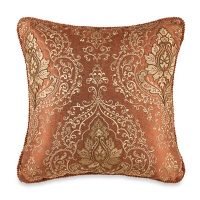 Tunisia Throw Pillow in Rust  Bed Bath  Beyond