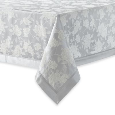 Waterford Linens Hydrangea Oblong Tablecloth Bed Bath
