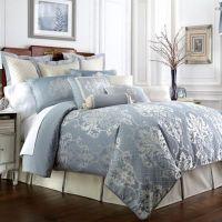 Waterford Linens Newbridge Reversible Comforter Set - Bed ...