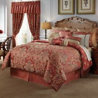 Waterford Linens Hamilton Reversible 4-Piece Comforter ...