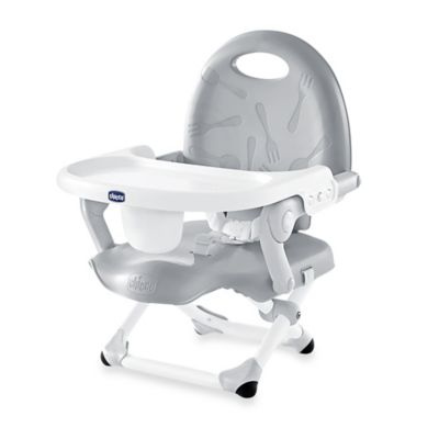 booster high chairs girly desk chair seats buybuy baby chicco pocket snack seat in grey