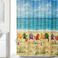 Buy Beach Scene Shower Curtain from Bed Bath & Beyond