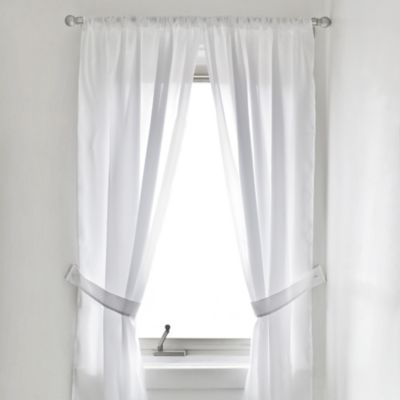 Buy 36Inch Window Curtain from Bed Bath  Beyond