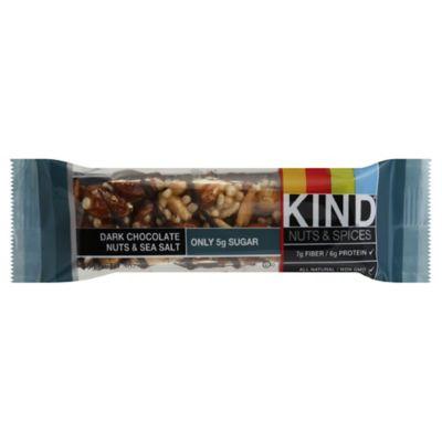 Kind 14 oz Dark Chocolate Nuts amp Sea Salt Bar www