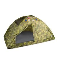 Pacific Play Tents H.Q. Camo Twin Bed Tent in Green - www ...
