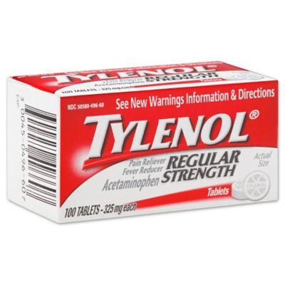Buy Tylenol Regular Strength 100-Count 325 mg Pain ...
