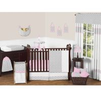Sweet Jojo Designs Zigzag 11-Piece Crib Bedding Set in ...