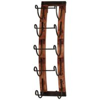 5-Bottle Hanging Wine Rack - Bed Bath & Beyond