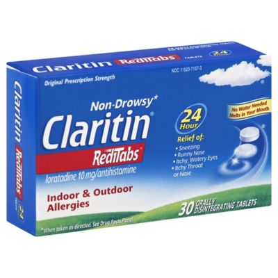 Claritin 30 Count 24 Hour Redi Tablets Bed Bath Amp Beyond
