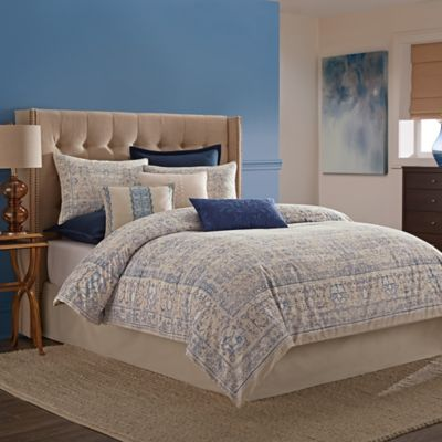 Wamsutta Tapestry Comforter Set in Blue Bed Bath Beyond