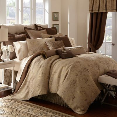 Waterford Linens Orla Reversible Comforter  Bed Bath