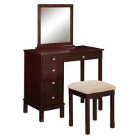 Linon Home Julia Vanity and Bench Set - www ...