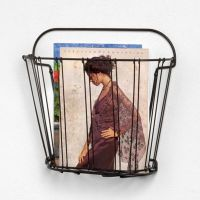 Buy Double Wire Wall Mount Magazine Rack from Bed Bath ...