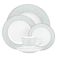 Lenox Opal Innocence Dinnerware Collection in Blue - Bed ...