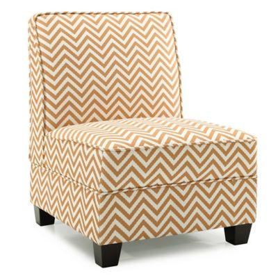 armless living room chairs day bed in buy bath beyond dwell home ryder accent chair ziggi orange