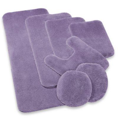 Buy Wamsutta Duet Contour Bath Rug in Light Purple from