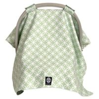 Buy Balboa Baby Car Seat Canopy in Sage/White Circle from ...