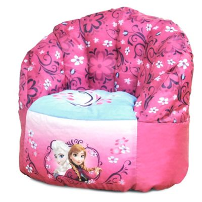 child bean bag chair personalized zone flip disney® frozen - buybuy baby